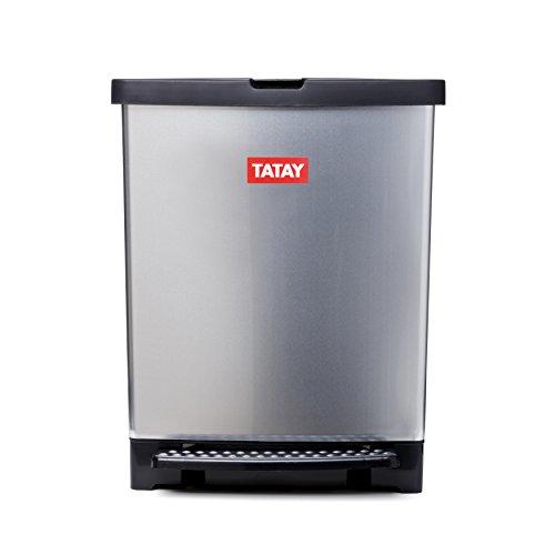 Tatay Trend-Cubo de basura para cocina fabricado en PP metal