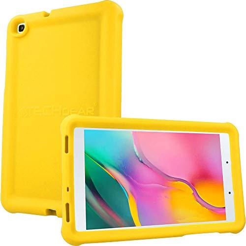 """cover silicone tablet 8 pollici TECHGEAR Custodia Progettata per Samsung Galaxy Tab A 8.0"""" 2019 (SM-T290/SM-T295)"""