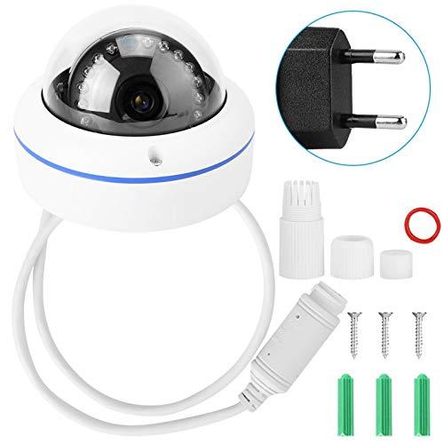 Cámara Domo IR 720P Cámara IP inalámbrica 15 Piezas de Luces LED infrarrojas adecuadas para Control Remoto y monitoreo para iOS,(European regulations)