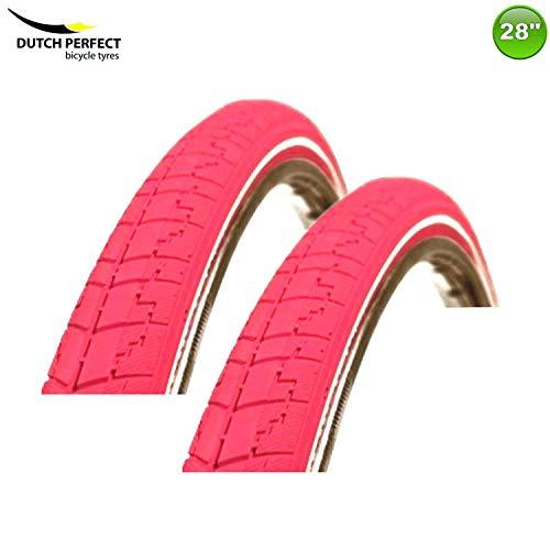 2 x Dsi Banden Jas Deken 37-622 Kleur Roze/Paars