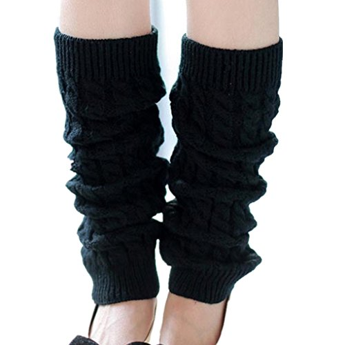 Black Leg Warmers for Women. Many other colors available.