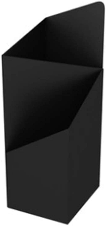 Xyanzi Umbrella Stand, Storage Umbrella Bucket - Wrought Iron Floor Type for Hotel Lobby Home 20x25x60cm (color   Black)