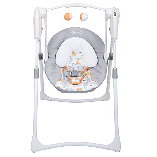 Graco Slim Spaces columpio 2 en 1, Linus