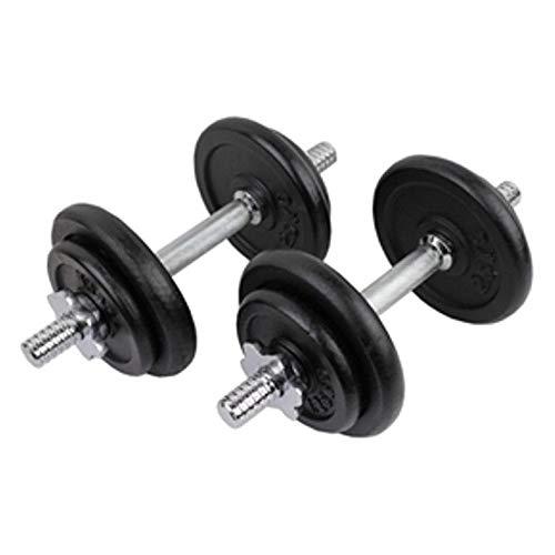 Set di pesi generici S per fitness Pro 20 kg manubri New Fitness Pro