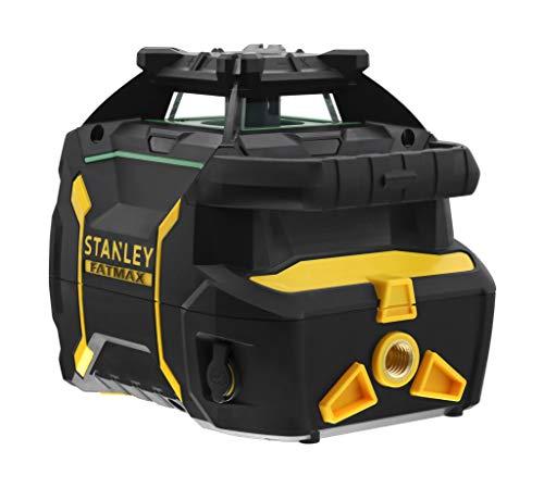 Stanley FMHT77448-1 RL750LG laser draaibaar (Li-ion) Fatmax – groene kabelboom – bereik tot 600 m met cel (meegeleverd) – levering in TSTAK-koffer met 7 accessoires – Li-Ion accu