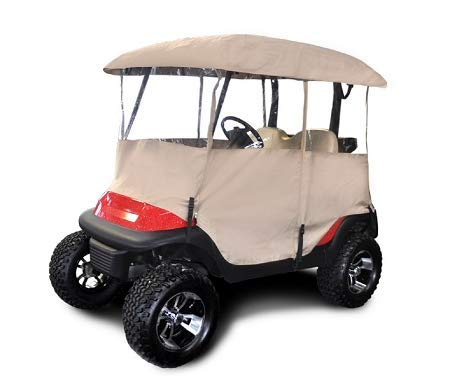 """RED DOT Universal Golf Cart Enclosure for Carts with up to 54"""" Tops"""