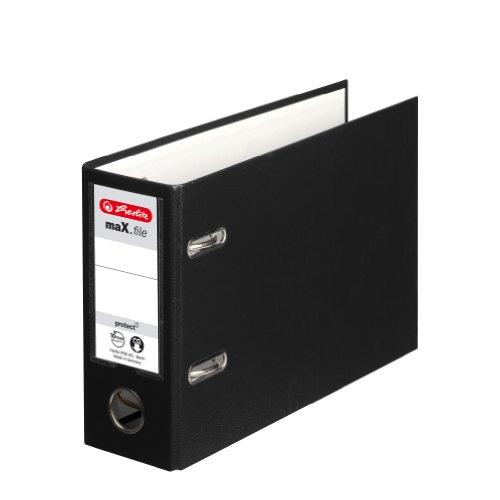 Herlitz 10842334 Max.File Protect Classeur en Carton A5 Orientation Paysage FSC Mix