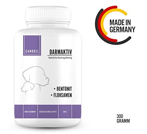 Canobel® DarmAktiv - Natürliche Unterstützung der Verdauung - Darm-Sanierung & Aufbau der Darmflora für Hunde (300 Gramm)