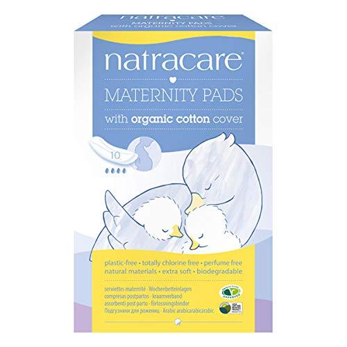NATRACARE - Serviettes Hygiéniques Maternité 10 Serviettes