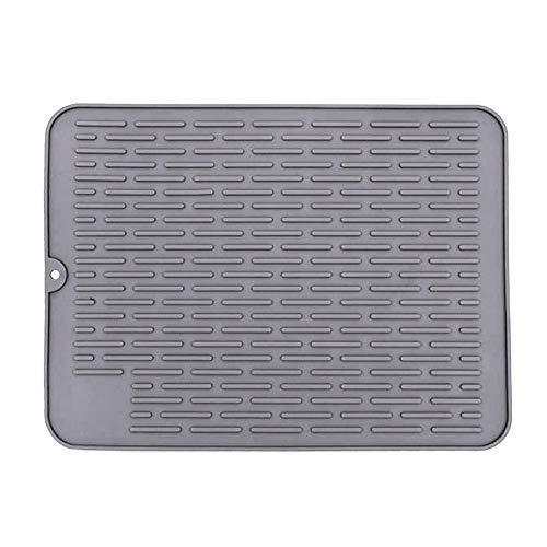 chora 40 30cm Silikon Drain Isolationspad, Isolationspad für Küchentheke Spülbecken Pad Wasserfilter Pad Trocknungspad, Verschiedene Anwendungen-Hitzebeständigkeit bis zu 450ºF