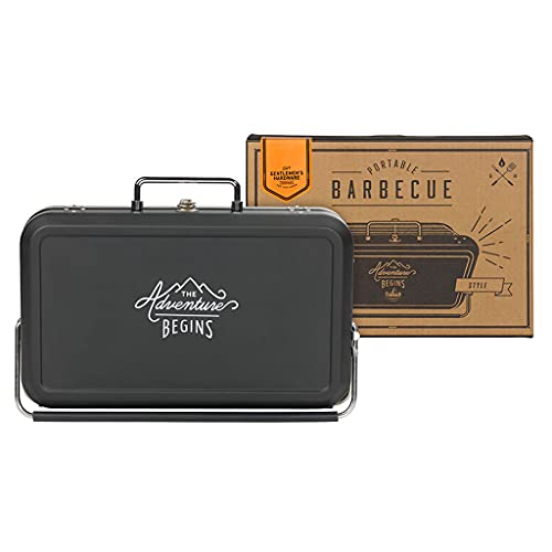 Gentlemen's Hardware - Barbecue Portatile Unisex, Nero