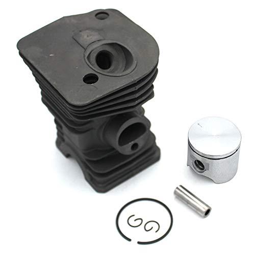 P SeekPro Kit Piston de Cylindre Nakisil 40mm pour Husqvarna 340 340E 340EPA 345 345E 345EPA 350EPA Réf. 503870005 503870073 503870076