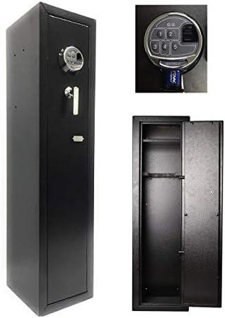 Southeastern Quick Access Biometric Rifle Safe Fingerprint Long Gun Safe for Home Rifles Shotguns product image