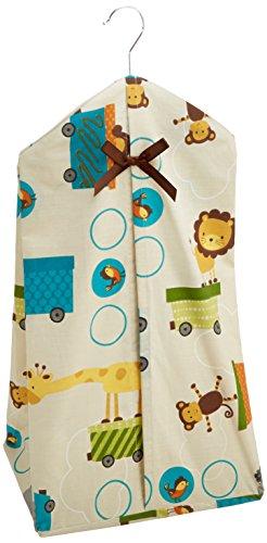 Bedtime Originals Diaper Stacker, Choo Choo