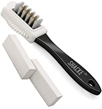 Shacke Suede & Nubuck 4-Way Leather Brush Cleaner + 2 Erasers