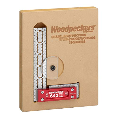 "Woodpeckers Stainless Steel Square - 6"" - 642-2019"