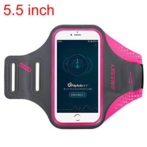 Fitness und Sport Training Joggen Wasserdichtes Gear Beast Sportarmband f/ür das Samsung Galaxy S8 reflektierendes Band mit Kartenfach. Handy-Halterung f/ür Laufen