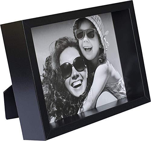 BD ART 13 x 18 cm Box Cadre Photo, Noir