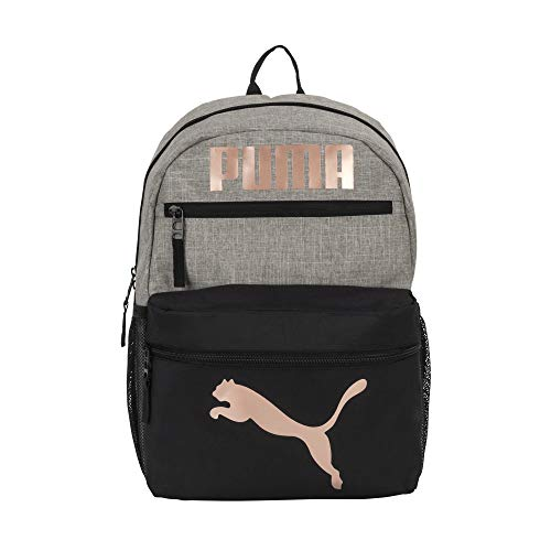 PUMA Mädchen Backpack Rucksack, grau/pink, Youth Size