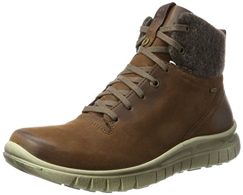 Legero Herren Hohe Sneaker CAMPO, Braun (Asphalt), Gr. 45 (UK 11)