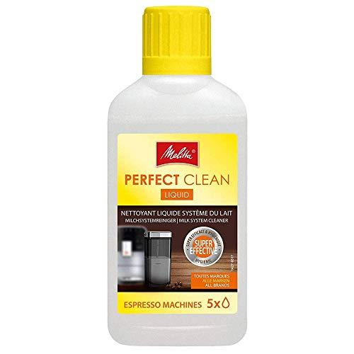 Melitta 202034 Perfect Clean Milchsystem Reiniger | Entfernt einfach und gründlich Milchablagelagerungen | 250 ml