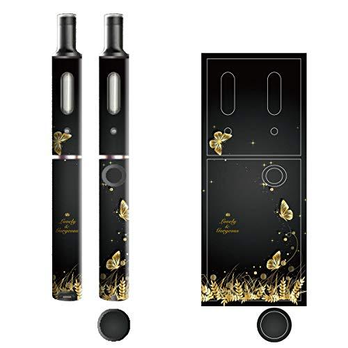 電子たばこ タバコ 煙草 喫煙具 専用スキンシール 対応機種 プルームテックプラスシール Ploom Tech Plus シール Lovely & Gorgeous 12バタフライ 22-pt08-ca0331