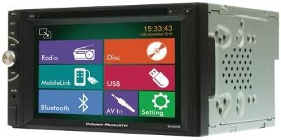 Max 89% OFF Power Acoustik Financial sales sale Pd_620Hb 6.2 Double_Din D Lcd In-Dash Touchscreen