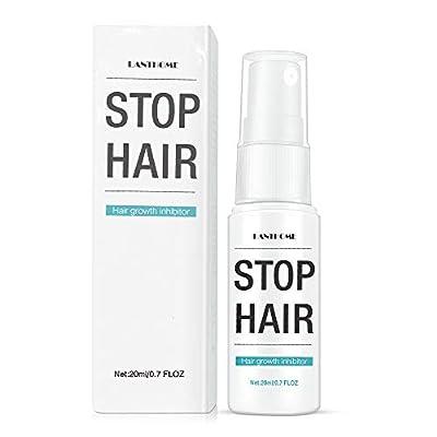 Anself 20ml Hair Growth Inhibitor Body Permanent Hair Removal Hair Stop Spray