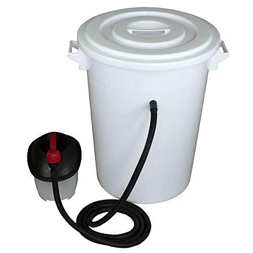Tolegano Dampfwachsschmelzer mit einem Fassungsvermögen von 75 Liter inkl. Dampferzeuger für den eigenen Wachskreislauf Wachsschmelzer Wabenschmelzer