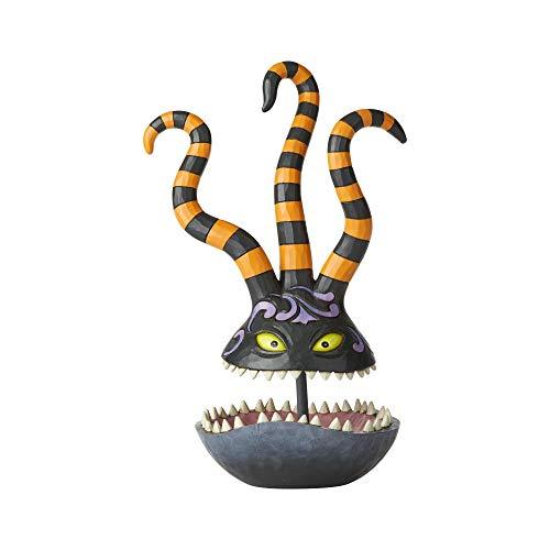 ENESCO Disney Traditions by Jim Shore - Nightmare Before Christmas - Harlequin Demon Trinket Dish, Stone Resin, 10.5-inch
