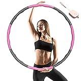 SOCLL Hula Reifen für Erwachsene, 8 Abnehmbare Abschnitte Reifen Geeignet für Erwachsene und...