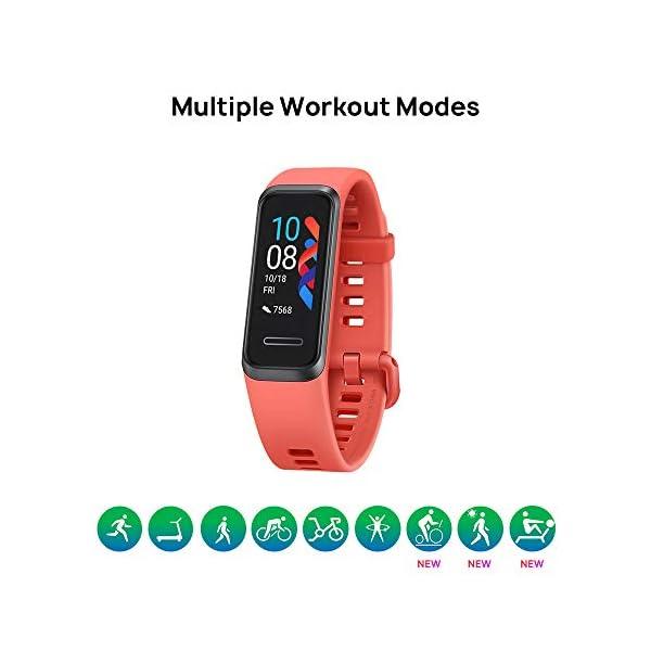 HUAWEI Band 4- Pulsera de actividad con pantalla a color TFT de 0.96 pulgadas,