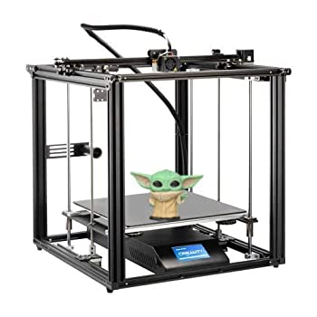 Advanced Creality Ender 5 Plus 3D Printer by MKK Upgraded FDM 3D Printer with BL Touch Glass Bed 4.3 Inch Touch Screen Large Print Size 350x350x400mm