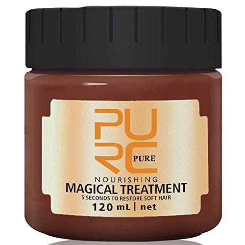 Hydrating Argan Oil Hair treatment Mask -Hair Magical Hair 5 Seconds Repairs Damage Hair Root Hair Tonic keratin repair hair mask & Scalp Treatment 120ml