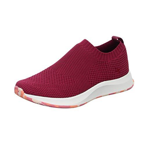 Tamaris Fashletics Damen Slipper Rot, Schuhgröße:EUR 40