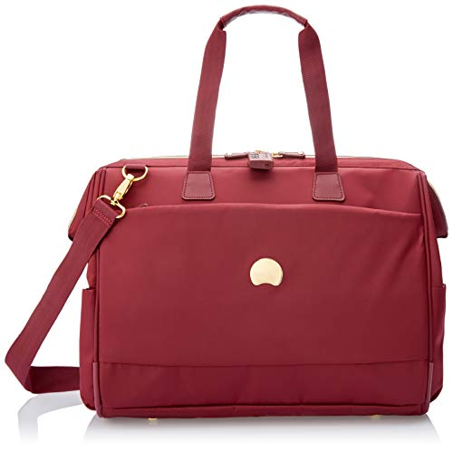 DELSEY Montrouge Bolsa de Viaje, 50 cm, 30 Liters, Rojo (Rouge)