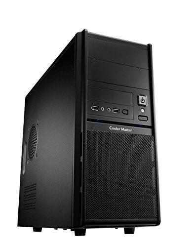 Cooler Master Elite 342 PC-Gehäuse 'Micro-ATX, USB 2.0, Seitliches Lochgitter' RC-342-KKN1-GP