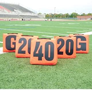 Solid Sideline Markers with Handle - 11PC Set
