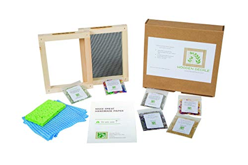 Classic Paper Making Kit for Handmade Papermaking...