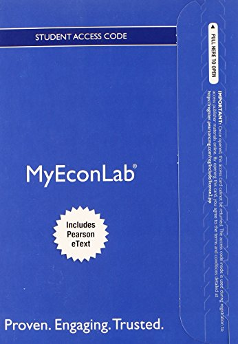 NEW MyLab Economics with Pearson eText -- Access Card -- for Foundations of Microeconomics