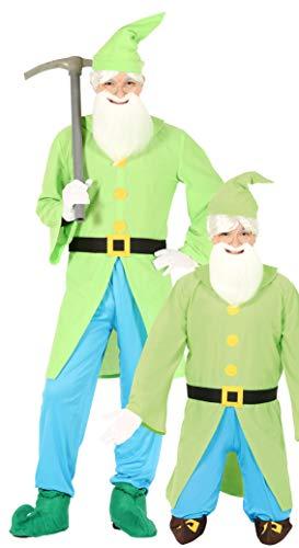 Groen dwerg kostuum voor mannen