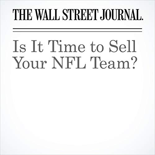 Is It Time to Sell Your NFL Team? copertina
