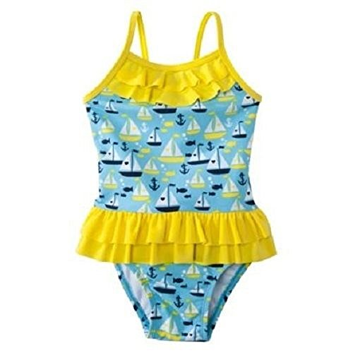 Circo Baby Girl's One Piece Sailboats Swimsuit - Size 9M