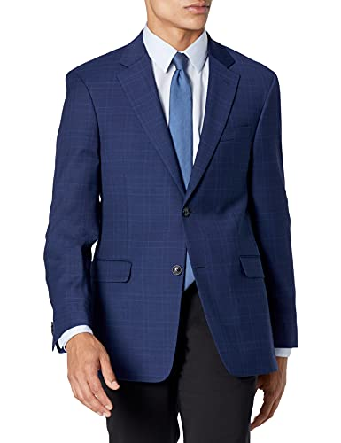 Tommy Hilfiger Men's Jacket Modern Fit Suit Separates with Stretch-Custom Jacket & Pant Size Selection, Navy, 40S