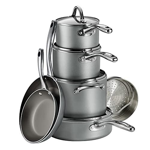 Tramontina Cookware Set Nonstick 11-Piece Gray, 80143/030DS