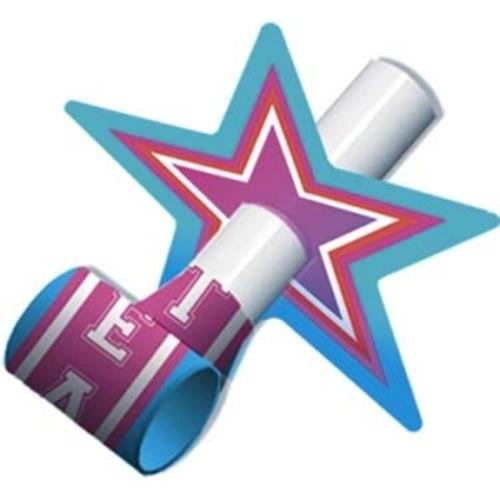 Buy Bargain 8 Blowouts Serentins Star Shaped Party Supplies