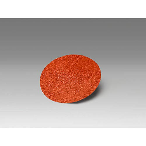 """3M Roloc Disc 963G - 36 Grit Ceramic Grinding Disc - For Disc Sanders - Roloc Quick Change - Water Resistant YN-Weight Backing - 1.5"""""""