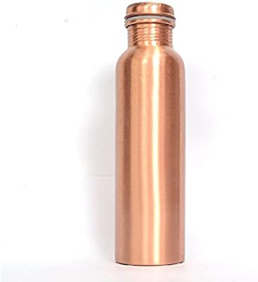 R Ayurveda Copper Water Bottle 1 Litre Pure Copper for Yoga and Doctor Recommended Bottle