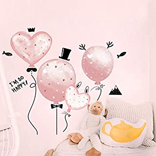 Wall Sticking Warm Girl's Bedroom Room Arrangement Sticking Paper Decoration Wall Sticking Paper Self-Sticking Painting