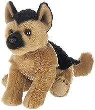 Bearington Lil' Chief Small Plush German Shepherd Stuffed Animal, 6.5 Inch